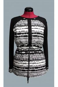 Majica za dojenje black&white