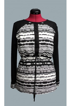 Black&white majica za dojenje
